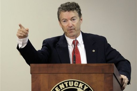 Rand Paul doesn't understand how budgets, the Senate, math work