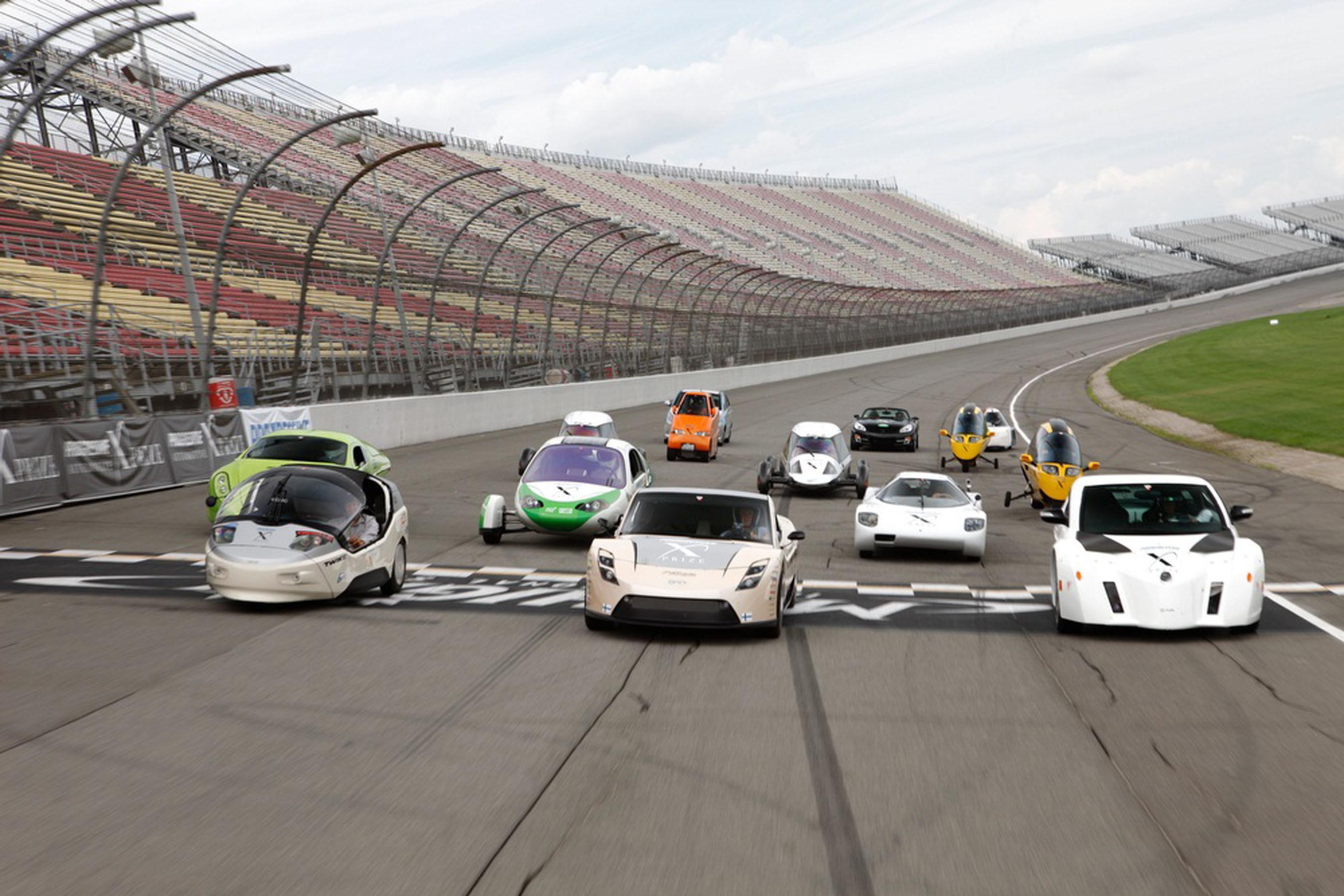 Three super-mileage winners announced for Automotive X Prize