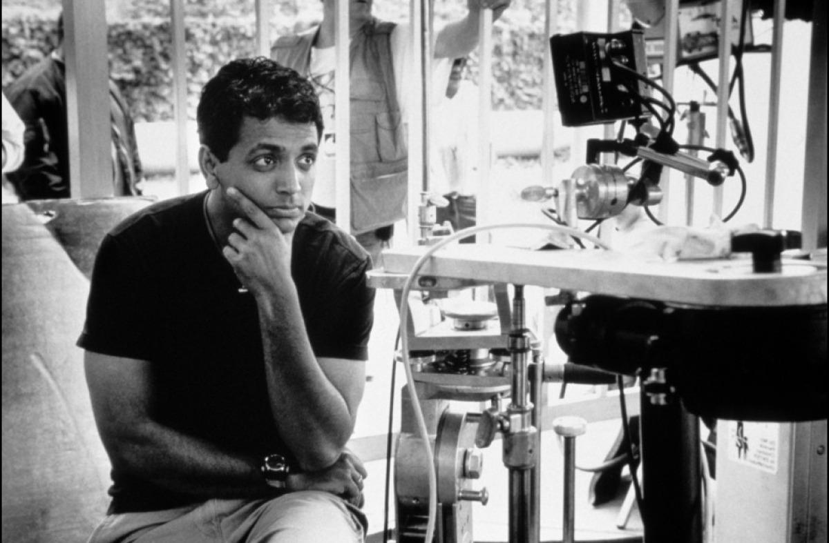 shyamalan essay A night in a calabrian village narrative essay author begins the story with a brief but very informative description of the night he describes the rain, how the big rain drops soak his clothes then he says how empty and dark is the village, how unwelcoming are the houses village feels lifeless only dogs' barks break the silence.
