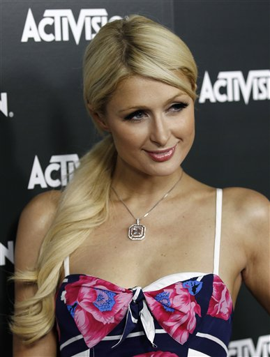 Paris hilton fall-2009