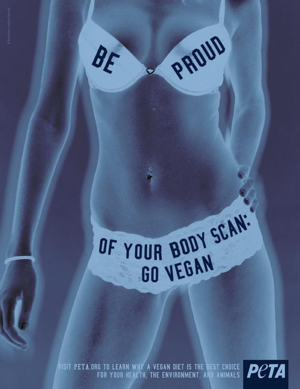 Airports ban body scan PETA ads - Salon.com