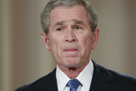 When Bush's mother showed him her miscarriage