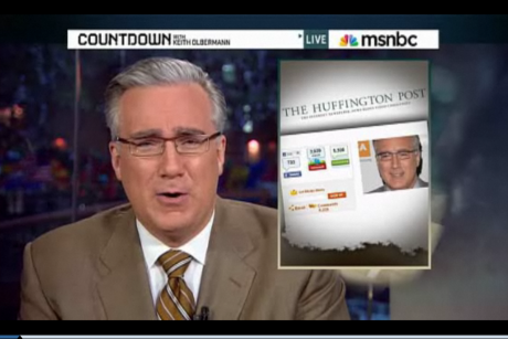 Olbermann, back on air, speaks his mind