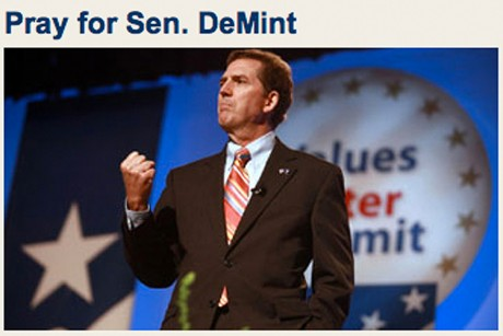 Pray for Jim DeMint!