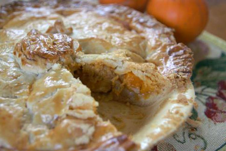 Pumpkin curry chicken pot pie recipe - Salon.com