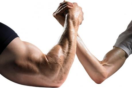 Woman Strong vs Weak Man