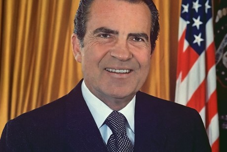 When I was stoned at the Nixon White House party