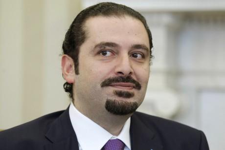 Lebanese Prime Minister Saad