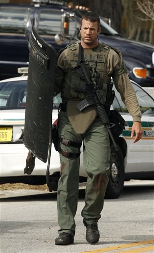 Two Florida stories run into an armed SWAT battle