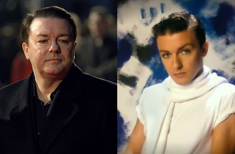 Ricky Gervais' career as an '80s glam-pop star | Salon.com