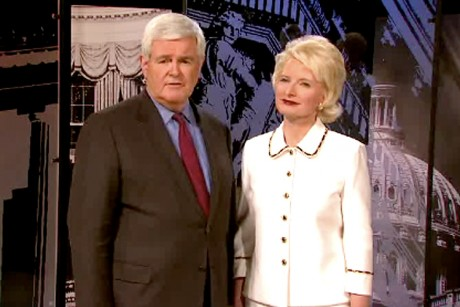 Gingrich cashes in on Reagan centennial
