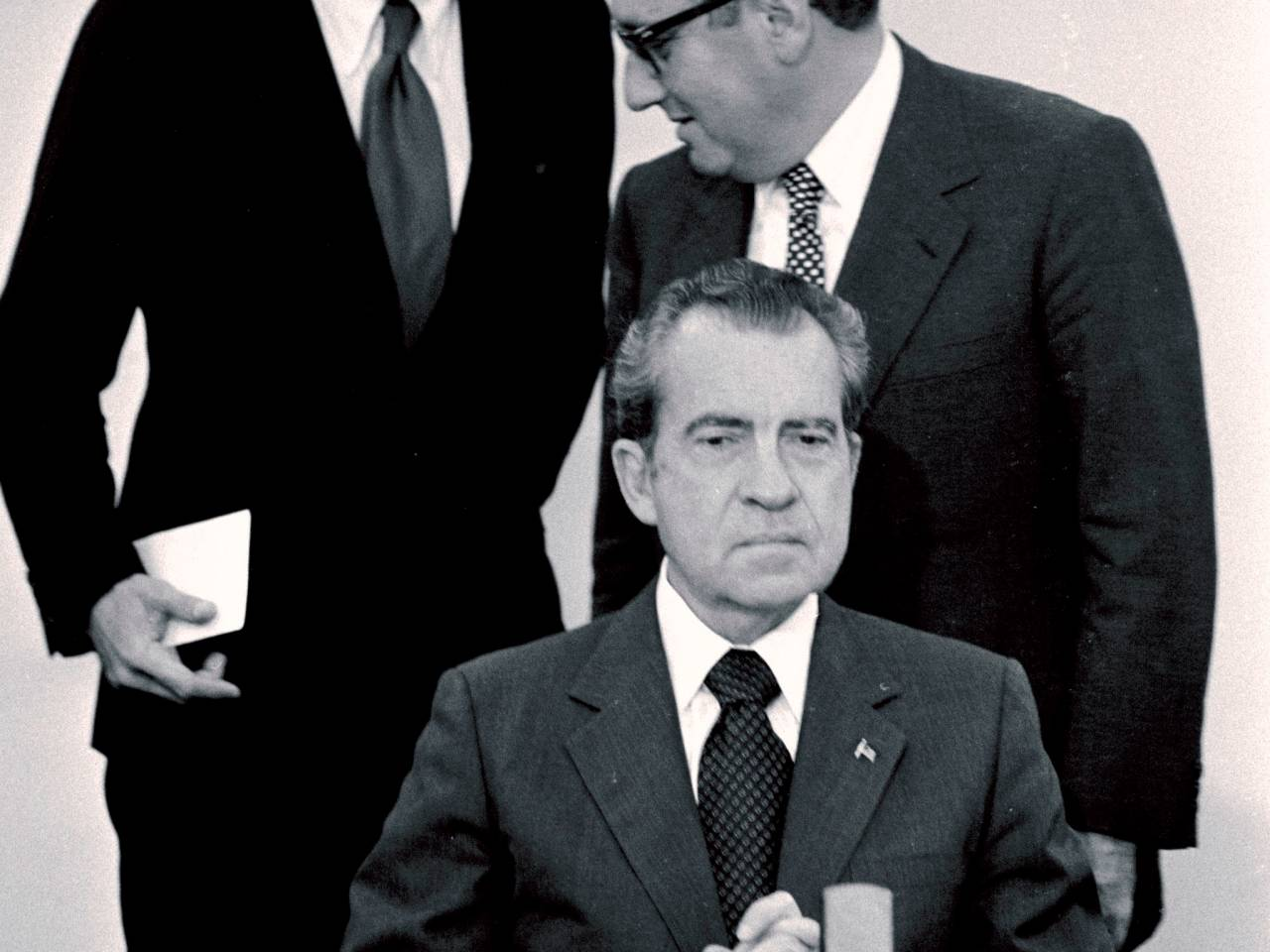 Nixon Administration Cabinet Rummyleaks The President Then Said Richard Nixon Doesnt Shoot