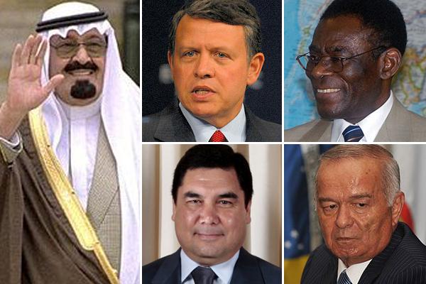 List of asian dictators
