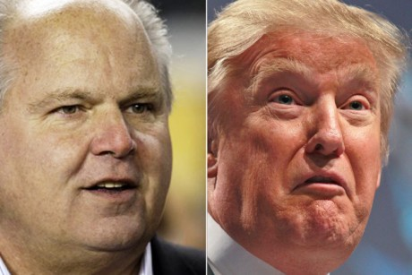 Donald Trump's fake campaign lands him on Limbaugh show