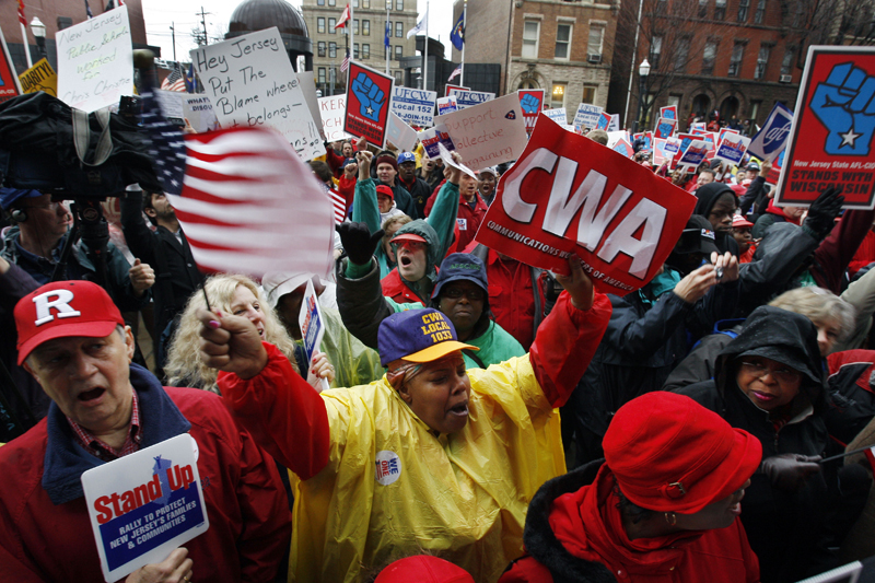 Donald Trumps Election Is The Death Of Americas Labor Unions