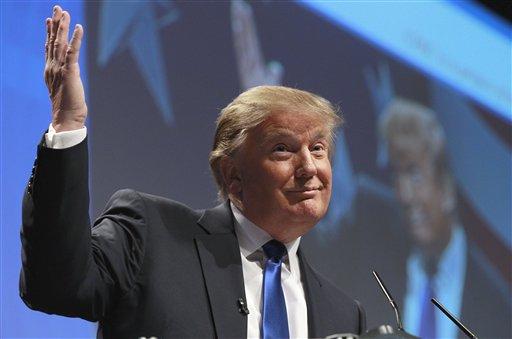 Donald Trump candidate  Make-believe a billionaire is