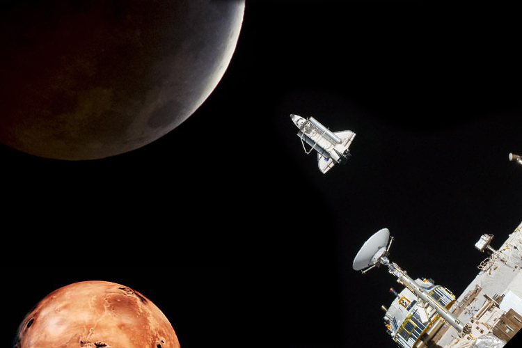 What s next for nasa a new space shuttle a mission to mars