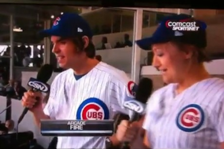 Cubs fans still have no idea what an Arcade Fire is