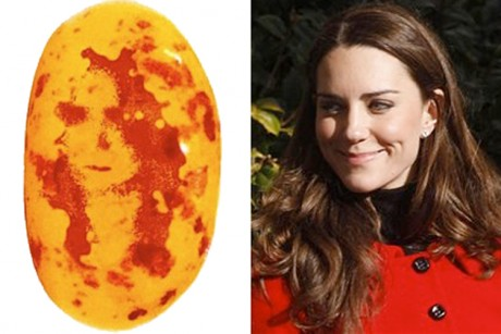 Magical Kate Middleton jelly bean to be auctioned on Ebay