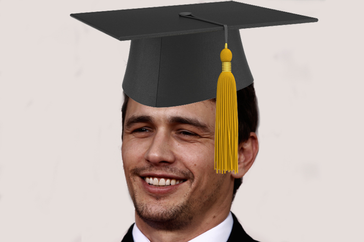 James Franco puts another doctoral notch in his degree belt - Salon ...