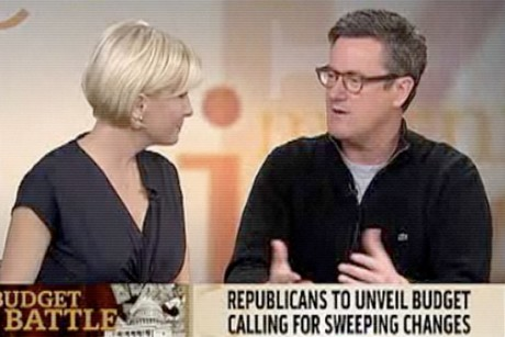 Morning Joe slobbers over GOP budget plan