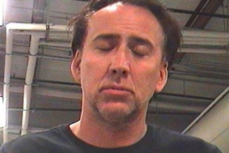 Nicolas Cage: Even his arrest is a bore