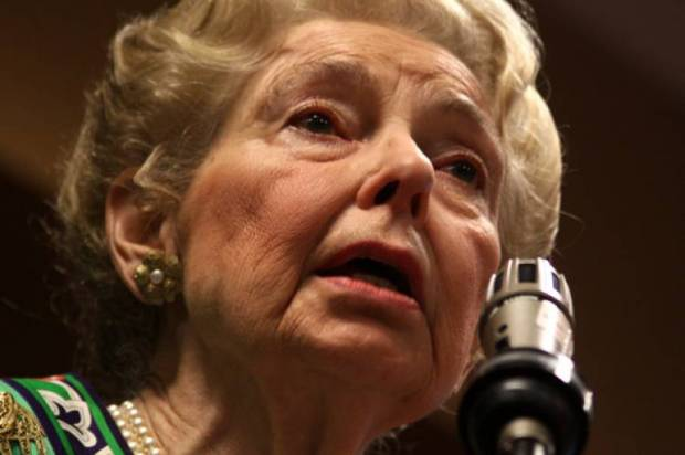 Phyllis Schlafly: Campus sex assault is on the rise because too many women go to college