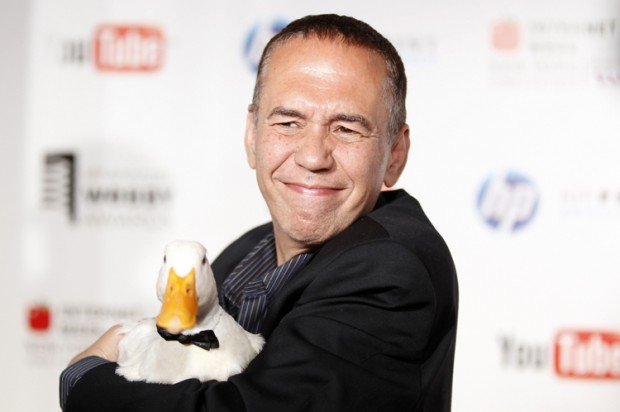 So, Gilbert Gottfried, about those tsunami jokes ...