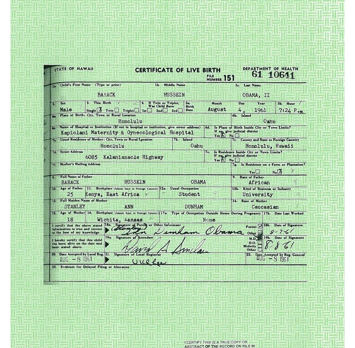 White house releases president obamas long form birth certificate white house releases president obamas long form birth certificate salon aiddatafo Image collections