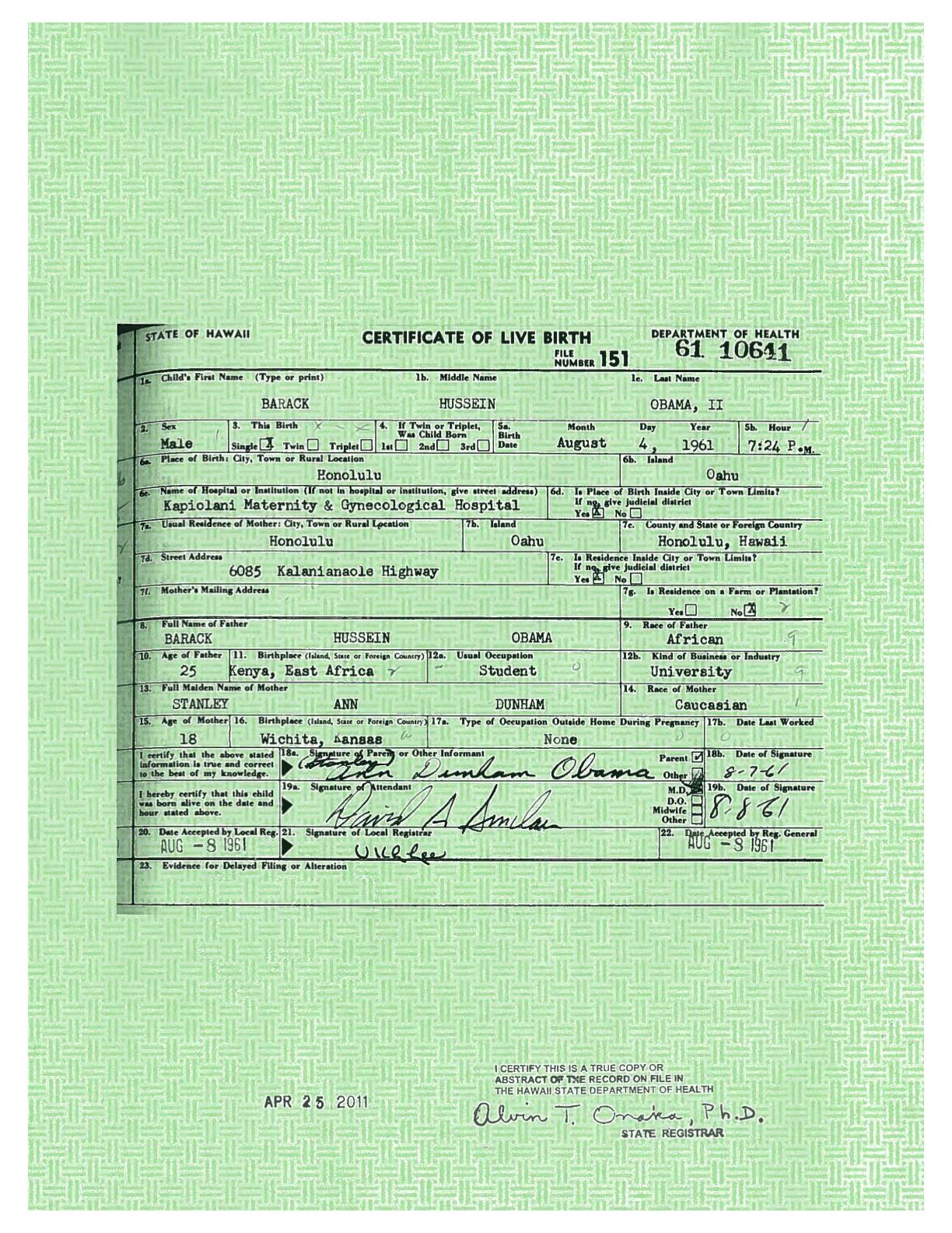 Beautiful gallery of view birth certificate online business view birth certificate online fresh white house releases president obama s long form birth certificate aiddatafo Gallery