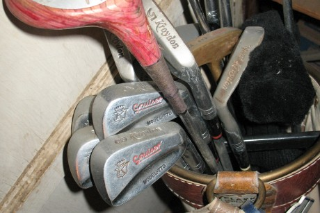 Why I'm awful at golf but still keep these clubs