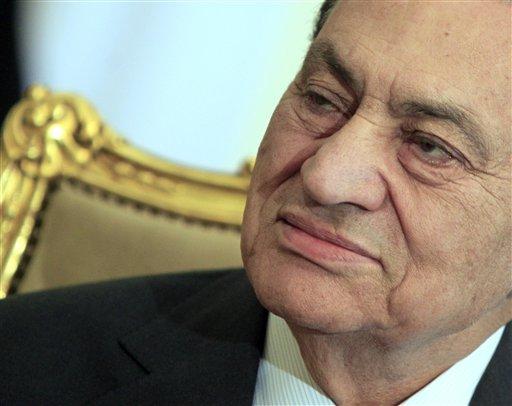 Egypt President Mubarak Egypt's Ousted President