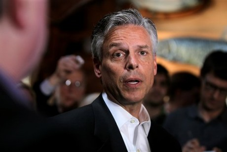 Jon Huntsman distances self from self