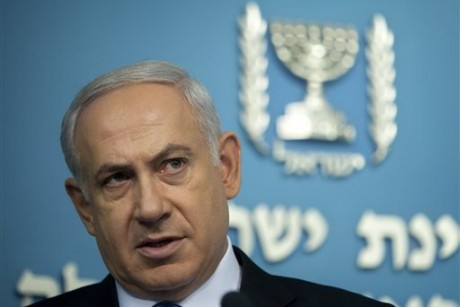 Netanyahu at White House after Obama challenge