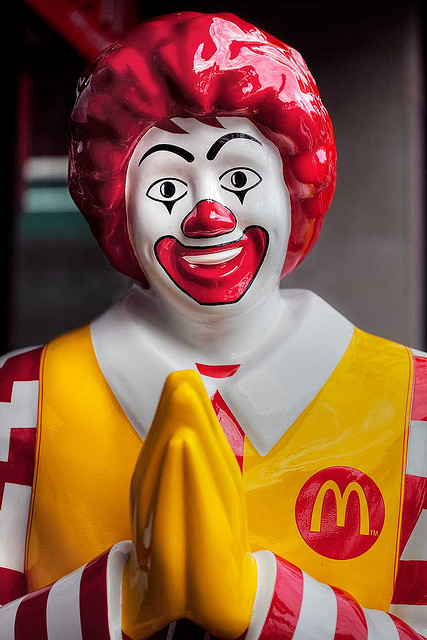 The Five Most Ridiculous Defenses Of Ronald Mcdonald