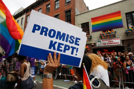 New York's legalization of same-sex marriage has hit the National Review ...
