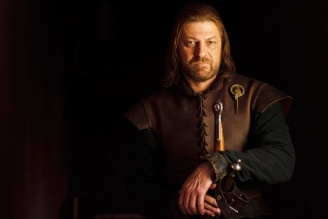 Sean Bean as Lord Eddard Stark in
