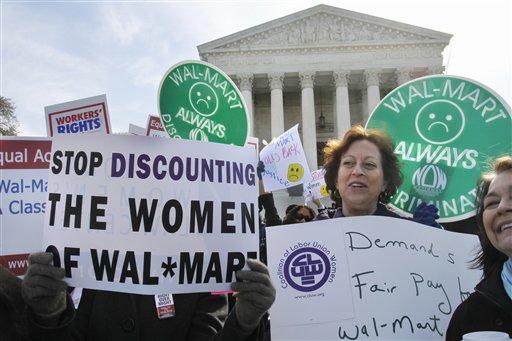an argument against wal mart