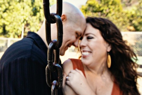 I blame my fiancee for this engagement photo