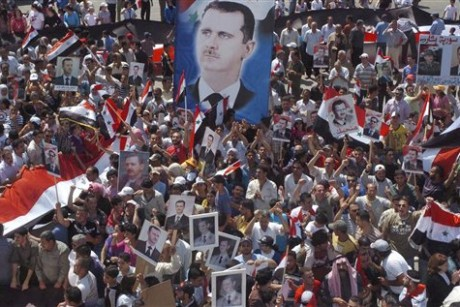 Syria accuses U.S. of inciting unrest