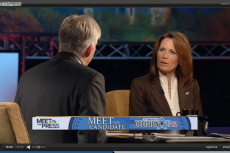 Bachmann challenged on anti-gay comments