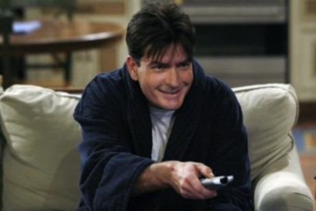 charlie sheen awaits the grim specter of death on two and a half men 460x307 His latest, Mardi Gras is interesting in that he sounds much better, ...