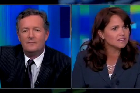 Christine O'Donnell just walked off CNN because she was running late