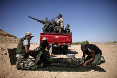 Have Libya's rebels committed war crimes?