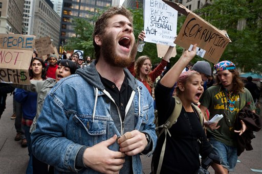 . What s behind the scorn for the Wall Street protests    Salon com