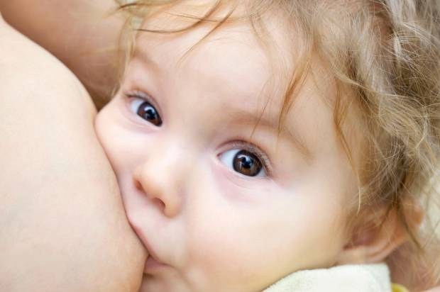 What shocked me about breast-feeding