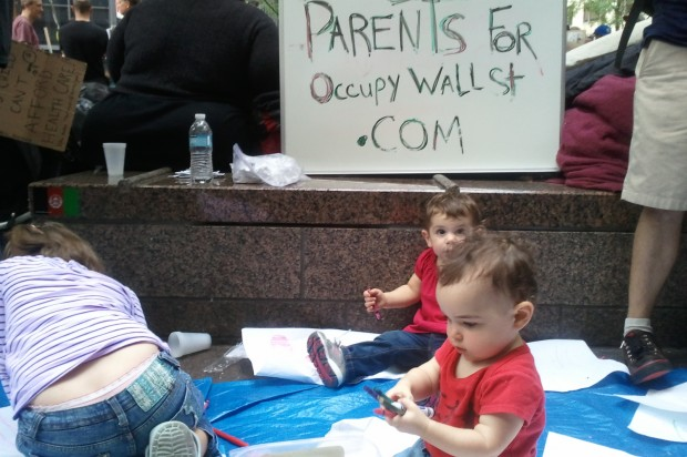 Occupy wall street the family friendly protest for 16 image the family salon