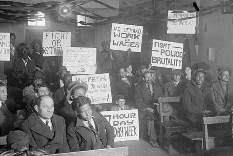 Wall Street during Great Depression