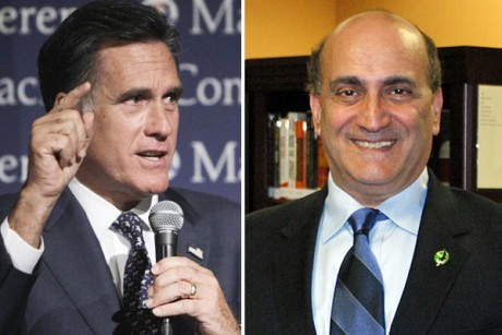 Mitt Romney and Whalid Phares