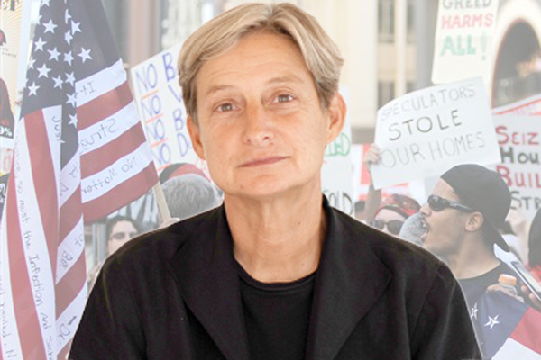 Judith Butler, the renowned academic and feminist theorist at the ...